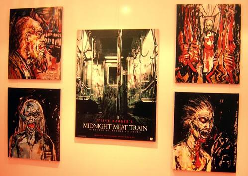 Arte Conceptual de Midnight Meat Train
